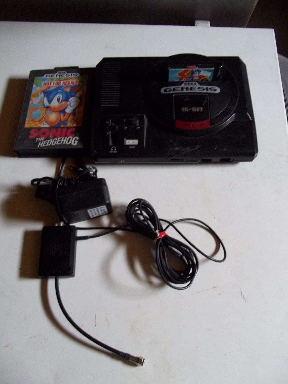 Sega Genesis Console System LOT Sonic 2