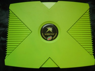 Original Xbox Rare Limited Mountain Dew Edition system complete XBMC