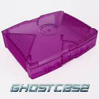 Purple Clear Case Xbox XBMC media center xmugen UnleashX Modded
