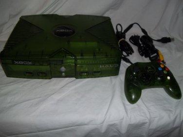 Original Xbox Rare Limited Halo Edition system 2tb Hard Drive XBMC