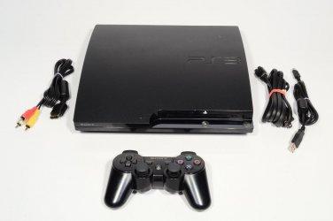 3.55 Firmware Jailbroken Sony Playstation 3 PS3 Slim 120 GB Console 120gb