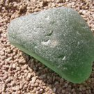 BIG Genuine Beach Sea Glass Green Jewelry Gems SEAGLASS