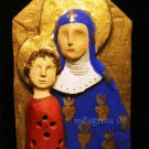 Madonna and Child Ceramic Plaque