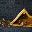 Vintage Mod Nativity set Made in Italy