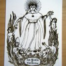 Retablo Art Print Patron Saint of Purgatory - Set of 2