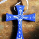 Terracotta Cross - Celestial Bodies- Easter