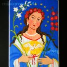 "Hand-painted Retablo El Alma de Maria ""The Soul of the Virgin Mary"""