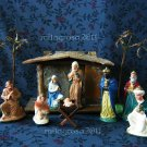 WWII Era American Nativity Set- Transogram Company