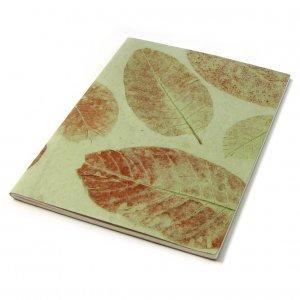 Blank notebook scrapbook sketching guest book handmade paper craft large 8x11 38pp mint