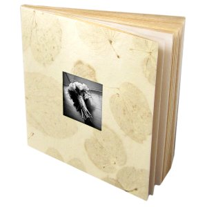 Photo wedding albums book 5x7/6x8 cream tree free heart leaf handmade paper mom present 16pp