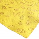 Scrapbook craft paper tree free handmade 21x31in sheets recycled yellow small leaf