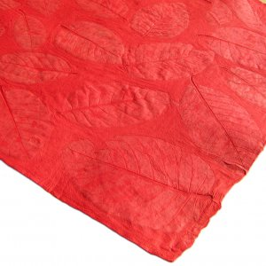 Craft paper sheets 21x31in tree free handmade gift wrap red large leaf