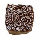 Flowers stamping mom present craft handmade 2in solid wood block ink stamps paper craft