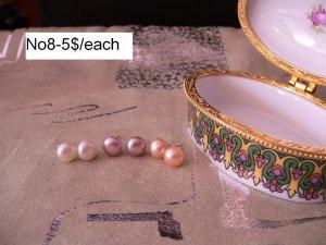 Freshwater pearl earings