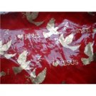 Red I Love Jesus scarf end Fringe New woman neck  head  cover