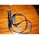Peace Sign ID/key holder lanyard New shipping  included