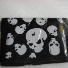 Skull wallet velcro new  in  package  ship  included
