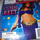 Belly Dancer  coin Belt  costume accessory  adult  woman gold tone
