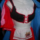 Cherry  Red  Riding  Hood  woman  size  M/L sexy costume
