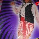 Economy Woman Pirate costume  skirt vest bandana