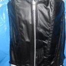 Black Corset Gothic Couture leather lingerie zipper & lace up