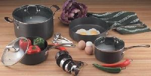 Maxalon by Chefs Secret 15pc Professional Quality Hard Anodized Cookware
