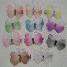 Butterfly Girls Hair Clip Clippie Rhinestone Jewels New