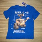 WALL E Boys Blue Disney Spring T Shirt NEW NWT 2 3 3T