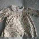 RALPH LAUREN Baby Girls Floral Smocked Dress 3 6 m 6m