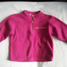 OLD NAVY Girls PINK Fall FLEECE Sweatshirt Logo 2t 3 3T