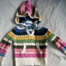Children's Place Striped Girls Fall Sweater 2 2t 3 3T