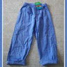 Fresh Produce Boutique Capri Girls Blue Pants 8 10 NWT