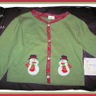 HOUSE OF HATTEN Baby Girl Christmas Shirt Top 9 12 NEW