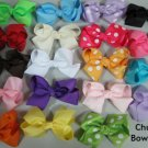 "Girls Hairbow 4.5"" Big Chunky Many Colors Zebra Bow New"