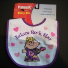 FUTURE ROCK STAR Baby Girls BIB Feeding Cute Gift NEW