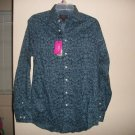 LIBERTY Of LONDON Floral Mens Blue Shirt S M New NWT