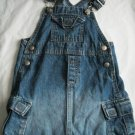 OLD NAVY Denim Girls Jean Jumper DRESS Fall 2 2t 3 3T