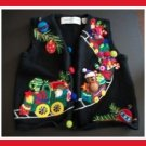MARISA CHRISTINA Girl Embroidered Christmas Sweater M 5