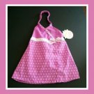 Baby Girls Pink White Polka Dot Summer Dress NWT 6 9 m