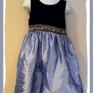 Gorgeous Girls Perfectly Dressed Dress Velour 4 4t 5 5t