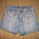 LIMITED TOO Girls Denim Shorts Blue Jeans 10 12 Slim