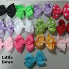 Girls Hairbows Bows Boutique Many Colors Hair Clip 2.5""