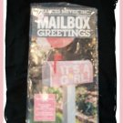 Mailbox Greetings IT's A GIRL! Pink Sign Cover NEW Cute