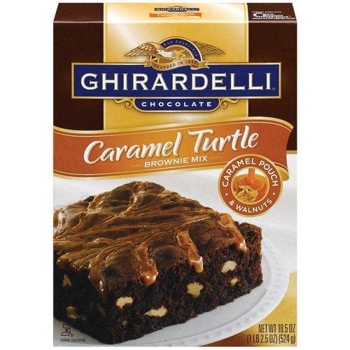 Ghirardelli Caramel Turtle Brownie Mix 18 50 Oz