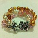 Glass Flower Bracelet