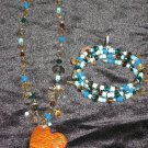 Aqua Works Necklace and Bracelet Set