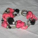 Pink Magnesite Bracelet