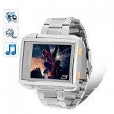 MP4 Player Watch (4GB Waterproof Steel Edition)