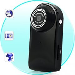 Ultra Compact MiniDV Camcorder (Audio Detection, 30 FPS)