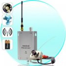 Mini Wireless Spy Camera Transmitter + Receiver Set